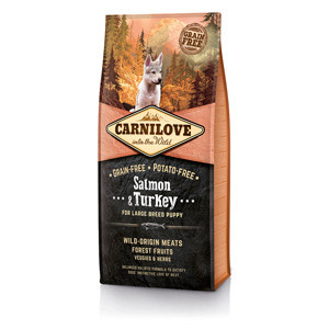 Carnilove Salmon and Turkey Large Breed Puppy 12 kg