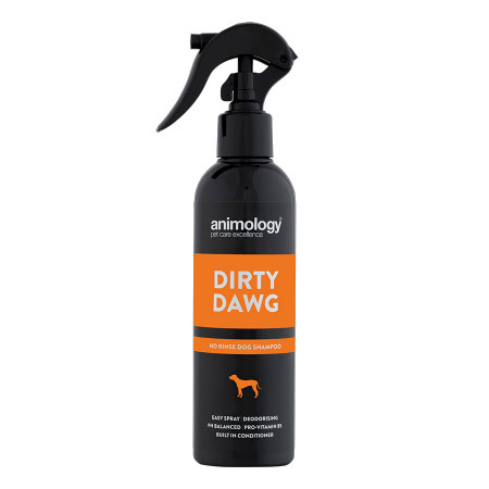 Sampon Animology Dirty Dawg (curatare fara clatire) 250ml