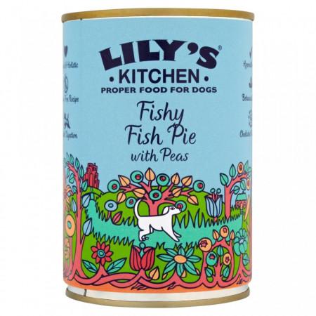 Hrana umeda pentru caini Lily's Kitchen Fishy Fish Pie 400g