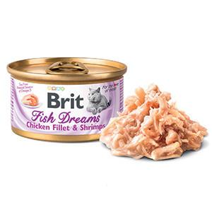 Brit Fish Dreams Chicken Fillet and Shrimps 80 g