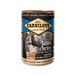 Carnilove Wild Meat Salmon and Turkey 400 g
