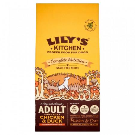 Hrana uscata Lily's Kitchen, ingrediente Naturale, cu Pui si Rata, 7kg, pentru caini
