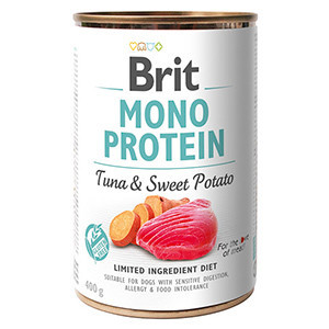 Brit Mono Protein Tuna and Sweet Potato 400 g