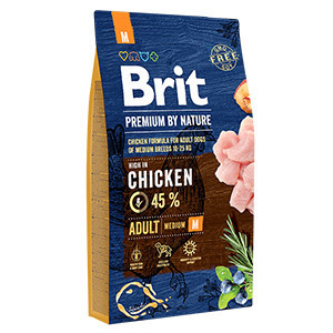 Brit Premium by Nature Adult M 8 kg