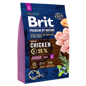Brit Premium by Nature Junior S 3 kg