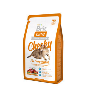 Brit Care Cat Cheeky Living Outdoor 2 kg