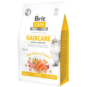 Brit Care Cat GF Haircare Healthy and Shiny Coat 400 g