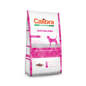 Calibra Dog GF Junior Small Duck 7 kg