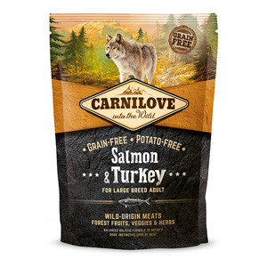 Carnilove Salmon and Turkey Large Breed Adult Dog 1.5 kg