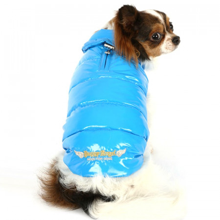 Poze Haina caini Puppy Angel Love Down Vest With HighGrossy-PA-OW232
