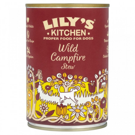 Hrana umeda pentru caini Lily's Kitchen Wild Campfire Stew 400g