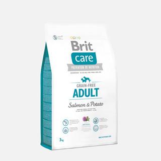 Brit Care Grain-free Adult Salmon and Potato 3 kg