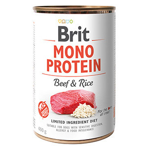 Brit Mono Protein Beef and Brown Rice 400 g