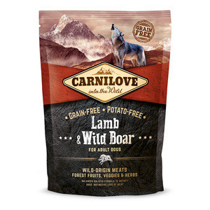Carnilove Lamb and Wild Boar Adult Dog 1.5 kg