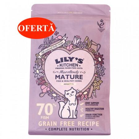 Lily's Kitchen - Marvelously Mature - Hrana uscata pentru pisici senioare 800g