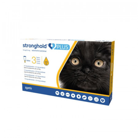 Stronghold Plus 15mg pisici <2.5kg