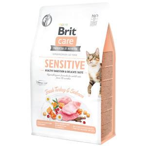 Brit Care Cat GF Sensitive Healthy Digestion and Delicate Taste 400 g