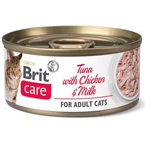 Brit Care Cat Tuna With Chicken and Milk 70 g