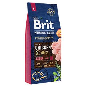 Brit Premium by Nature Junior L 15 kg