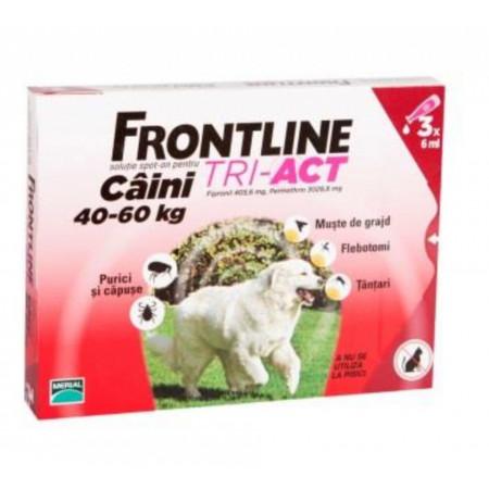 Frontline Tri-Act XL caini 40-60kg