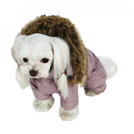 Haina caini PUPPY ANGEL Love Faux Down fete PA-OW314