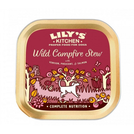 Hrana umeda pentru caini Lily's Kitchen Wild Campfire Stew 150g