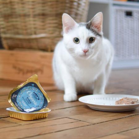 Hrana umeda pentru pisici Lily's Kitchen Organic Fish Dinner 85g