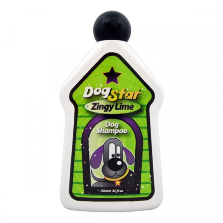 Sampon caini DogStar Zingy Lime 300 ml