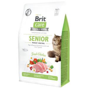 Brit Care Cat GF Senior Weight Control 400 g