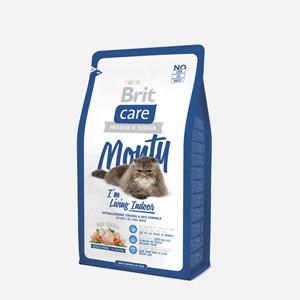 Brit Care Cat Monty Living Indoor 2 kg