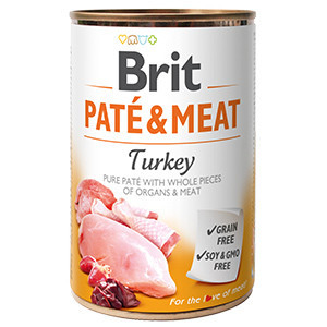 Brit Pate and Meat Turkey 400 g
