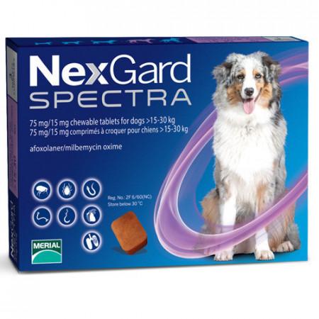 Nexgard Spectra comprimat caini 15-30kg