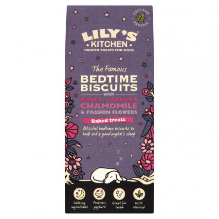 Recompense pentru caini Lily's Kitchen Bedtime Biscuits 100g