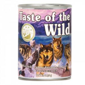 Hrana umeda Taste Of The Wild Wetlands, cu pasare, 390g, pentru caini