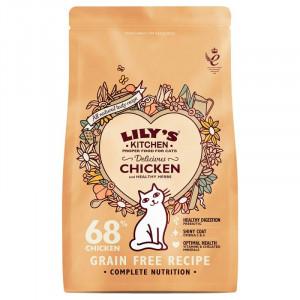 Hrana uscata Lily's Kitchen, ingrediente Naturale, cu Pui, 2kg, pentru pisici