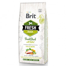 Brit Fresh Duck and Millet Active 12 kg