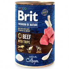 Brit Premium by Nature Beef with Tripes 400 g conserva