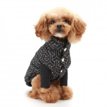 Haina caini Puppy Angel Luxury Faux Down Vest - PA-OW324