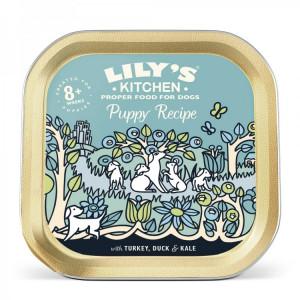 Hrana umeda pentru caini Lily's Kitchen Puppy Recipe Turkey & Duck 150g