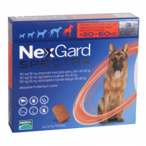 Nexgard Spectra comprimat caini 30-60kg