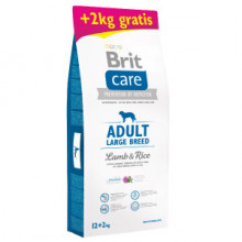 Brit Care Adult Large Breed Lamb and Rice 12 plus 2 kg