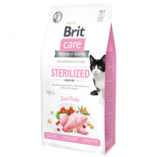 Brit Care Cat GF Sterilized Sensitive 7 kg