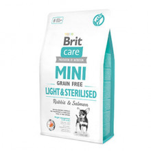 Brit Care Mini Grain Free Light and Sterilised 2 kg
