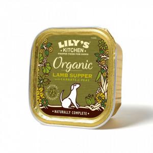 Hrana umeda pentru caini Lily's Kitchen Organic Lamb Supper 150g