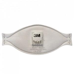 Masca FFP3 3M Aura 9332+ cu valva / supapa Cool Flow