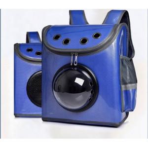 Rucsac Hublou lucios rectangular albastru