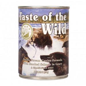 Hrana umeda Taste Of The Wild Pacific Stream, cu peste, 390g, pentru caini