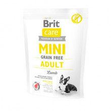 Brit Care Mini Grain Free Adult Lamb 400 g