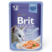 Brit Cat Delicate Salmon in Jelly 85 g