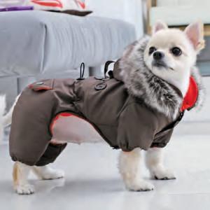 Haina caini Puppia Toasty (cu pantaloni)